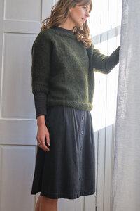 Petra Buttoned Through Skirt - bibico