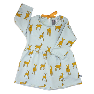 Sweatkleid Bambi - Pünktchen Komma Strich