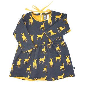 Sweatkleid Bambi - Pünktchen Komma Strich