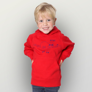 """Not Today"" Kinder-Hoody  - HANDGEDRUCKT"