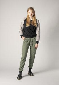 Damen Sweater Speckl Schwarz Bio Fair - THOKKTHOKK