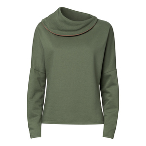 Damen Sweater Grün Bio Fair - ThokkThokk