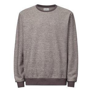 Herren Sweater Grau Meliert Bio Fair - THOKKTHOKK