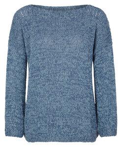 Pullover handgestrickt aus Wolle und Seide - Himalaya