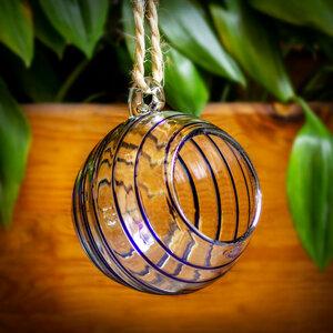 Dekovase Esfera blau | Blumenvase ca. 15cm ø - Mitienda Shop