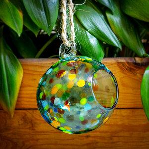 Dekovase Esfera Confetti | Blumenvase 25cm (optional mit Gestell) - Mitienda Shop