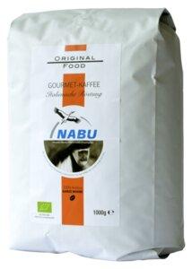 Gourmet-Kaffee ganze Bohne, 1kg - NABU