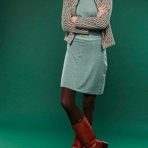 Lily Balou Langarm Frauenkleid frosty green - Lily Balou