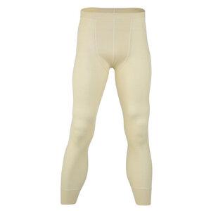 Herren Unterhose lang ohne Eingriff Bio-Schurwolle/Seide - Engel natur
