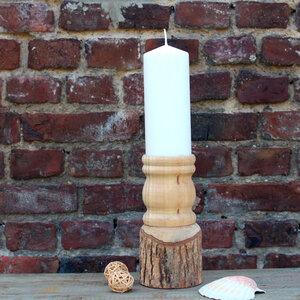 Kerzenständer Baumstumpf 22cm H - Mitienda Shop