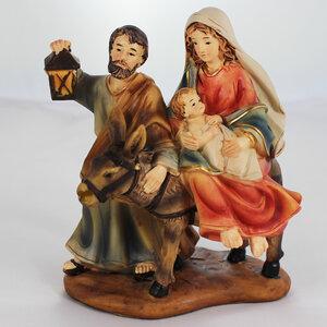 Krippenfiguren Set | Heilige Familie mit Esel 11cm - Mitienda Shop