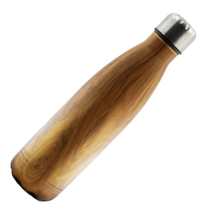 Holz Thermoflasche Edelstahl - Dora