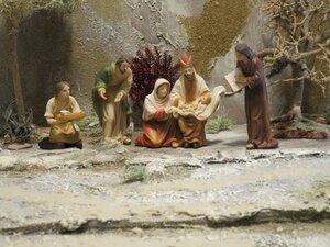 Krippenfigurenset Die Beschneidung Jesu | 9 cm - Mitienda Shop