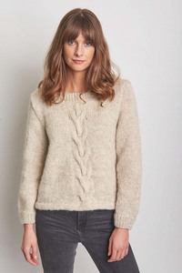 Evelyn Hand Knitted Jumper - bibico