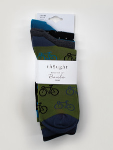 Fahrrad Set 3er Pack Socken - Cycles Sock Pack - Thought