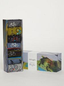 Fahrrad box 7er Set Socken Box - Bike Rider Sock Box - Thought