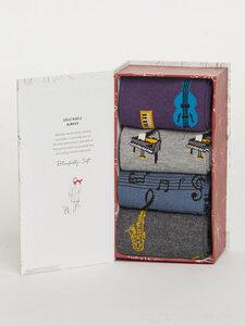 Musik box 4er Set Socken Box - Melody Sock Box - Thought
