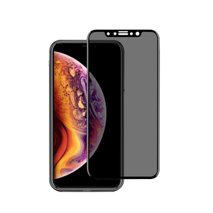 Panzerglas Premium transparenter Schutz für das iPhone, Privacy Glas - Woodcessories
