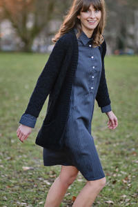 Alexa Tencel Shirt Dress - bibico