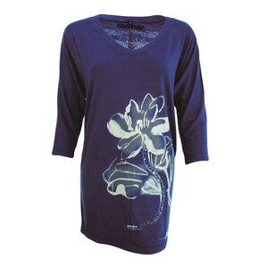 Chakura Lotus ¾ Sleeve Airy Top - Chakura by Ku Ambiance