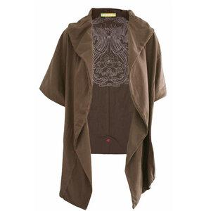 Chakra Supima Cotton Double Wrap Jacket  - Chakura by Ku Ambiance