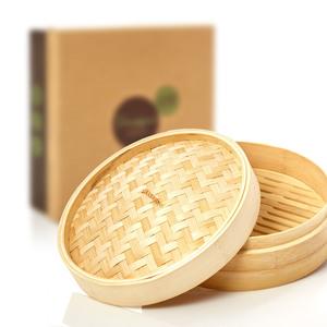 Hochwertiger Dampfgarer aus Bambus - erhältlich in Ø 22cm & Ø 27cm - Bambuswald
