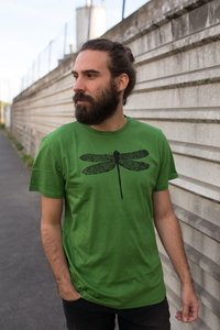 Libelle Biofaires Men Shirt _ green / ILK01 - ilovemixtapes