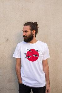 Sharks Haie Biofaires Men Shirt _ white / ILK01 - ilovemixtapes
