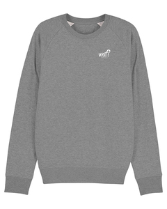 Basic Stroller Sweatshirt Unisex - Standard Colors - What about Tee