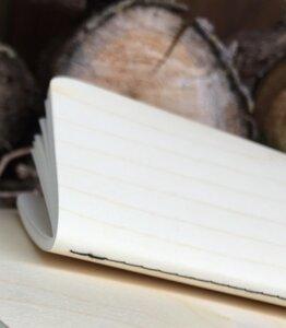 Echtholz Ahorn Notizblock - echtholz