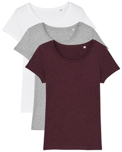 3er Pack Basic Lover T-Shirt Damen Different Colors - What about Tee