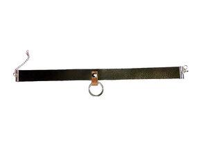 Choker / Halskette aus Olivenleder Made in Germany - Dörpwicht