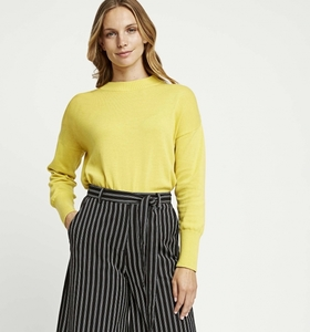 Pullover - Charlotte Jumper - Yellow - People Tree
