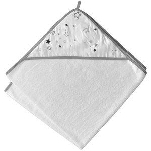Kapuzenhandtuch 100x100 cm für Babys & Kinder aus 100% Bio-Baumwolle - quschel®
