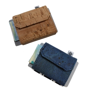 Space Wallet Mini Geldbörse aus Kork - Space Wallet