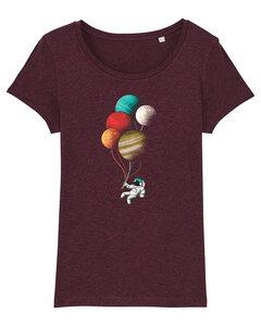 Balloon spaceman - T-Shirt Damen - What about Tee
