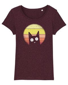 Sunset cat - T-Shirt Damen - What about Tee