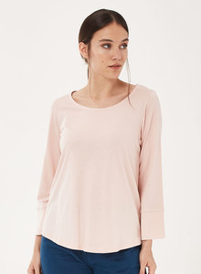 Langarmshirt aus Tencel-Mix mit 3/4-Arm - ORGANICATION