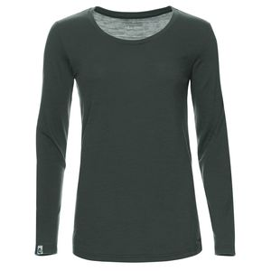 Merino Shirt Langarm Regularfit 200 Damen - Kaipara - Merino Sportswear