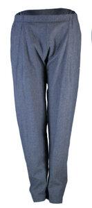 COSY II pants, Hanf-Baumwoll-Denim dunkelblau unisex - FORMAT