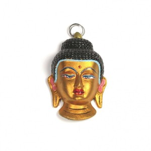 Buddha Maske goldfarben - Just Be