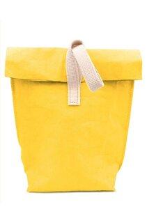 Lunchbag, Pausenbrot Tüte aus wasserfestem Papier Isoliert   - heyholi