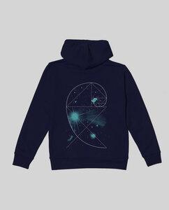 """Unisex Hoodie """"Universe"""" - SILBERFISCHER"""