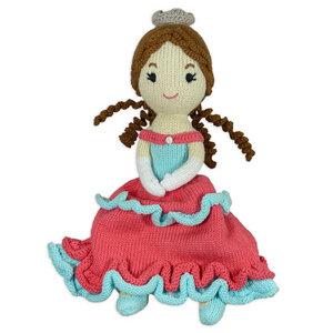 Bio Puppe Prinzessin Sophie (30cm) aus Fairem Handel  - Chill n Feel