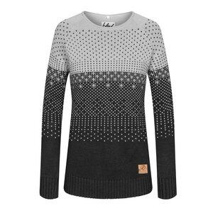 Gloaming Strick-Pullover Grau Damen  - bleed