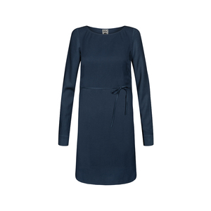 Lyocell (TENCEL) Dress Ladies Navy - bleed