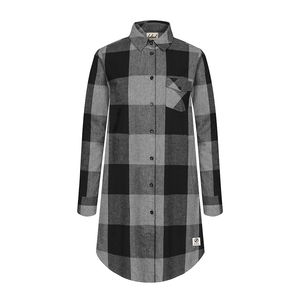Lumberjacks Shirt Dress Ladies Grey - bleed clothing GmbH