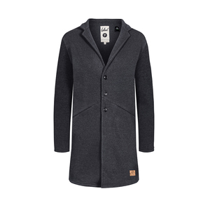 POLARTEC® Fleece Coat Ladies Dark Grey - bleed
