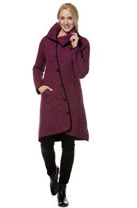 Edler gewalkter Damen Mantel aus Peru - Apu Kuntur