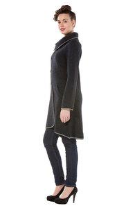 Edler gewalkter Damen Mantel aus Peru - ASI - Apu Kuntur